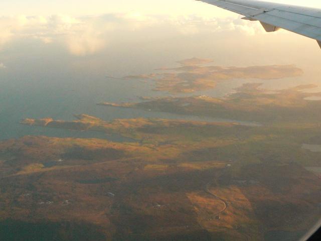 Lax Firth, Dales Voe, Lerwick, Bressay sound, Bressay & Isle of Noss