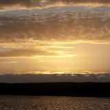 Sunset at Merdja Zerga